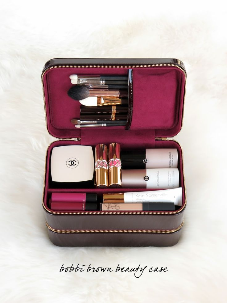 The Beauty Look Book - Bobbi Brown Beauty Travel Case                                                                                                                                                                                 More