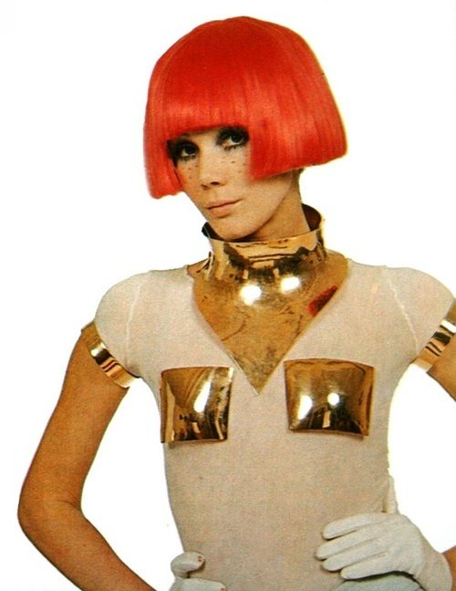 1960's Space Age Fashion by André Courrèges