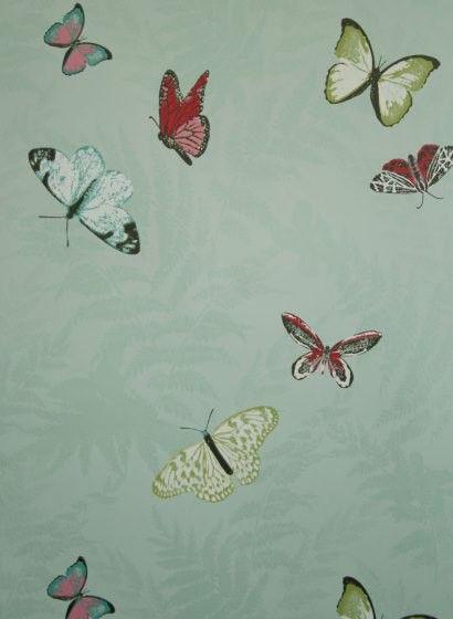 Tapete Farfalla von Osborne and Little - lindgrün