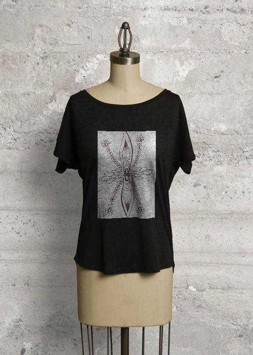 Tee. Art design by JWL. Buy it on www.shopvida.com. Price 40.00 USD.  www.jeanettewettersteinlarsen.com