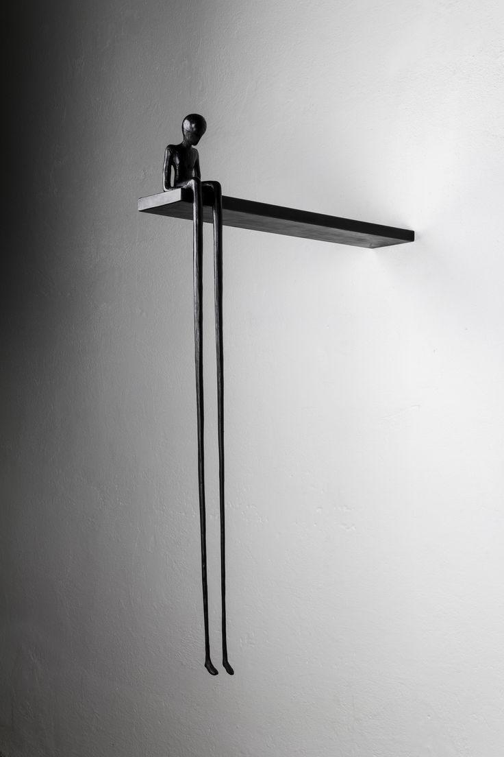 Alex Pinna, patinated bronze #contemporary #art #sculpture