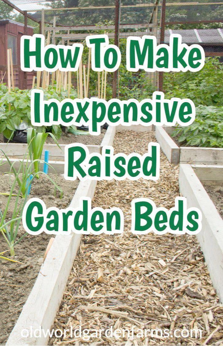 Raised Garden Beds For Sale Nz In Raised Garden Bed Diy Home Depot Under Diy Rai In 2020 Inexpensive Raised Garden Beds Vegetable Garden Raised Beds Raised Garden