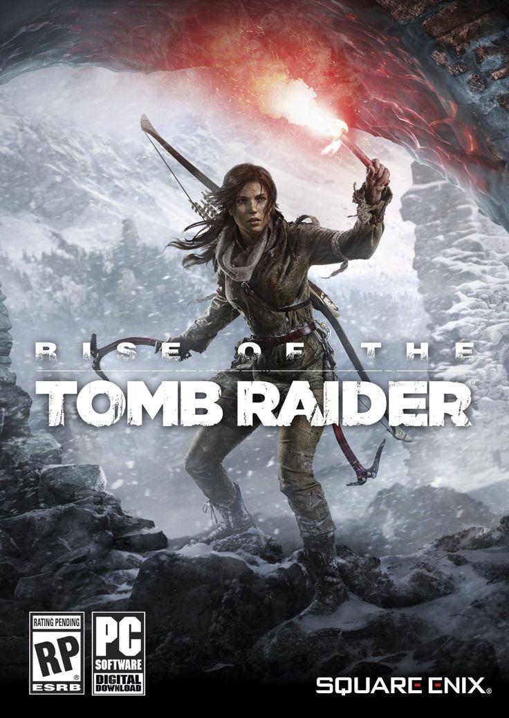 Znalezione obrazy dla zapytania rise of tomb raider box