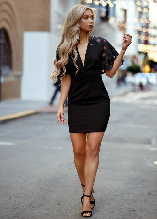10 Best ideas about Cute Black Dress on Pinterest  High socks ...