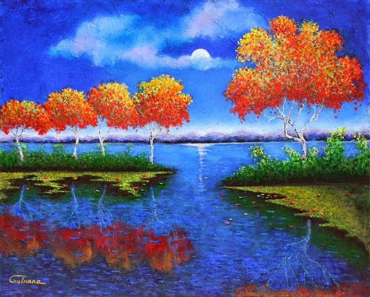 Осенний листопад в душе моей проснулся... Julia Gulnara(Gulnara W). Обсуждение на LiveInternet - Российский Сервис Онлайн-Дневников