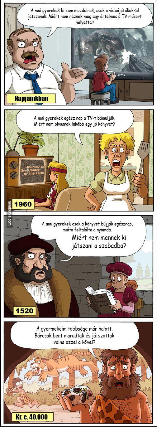 Nemkutya.com - A mai gyerekek...
