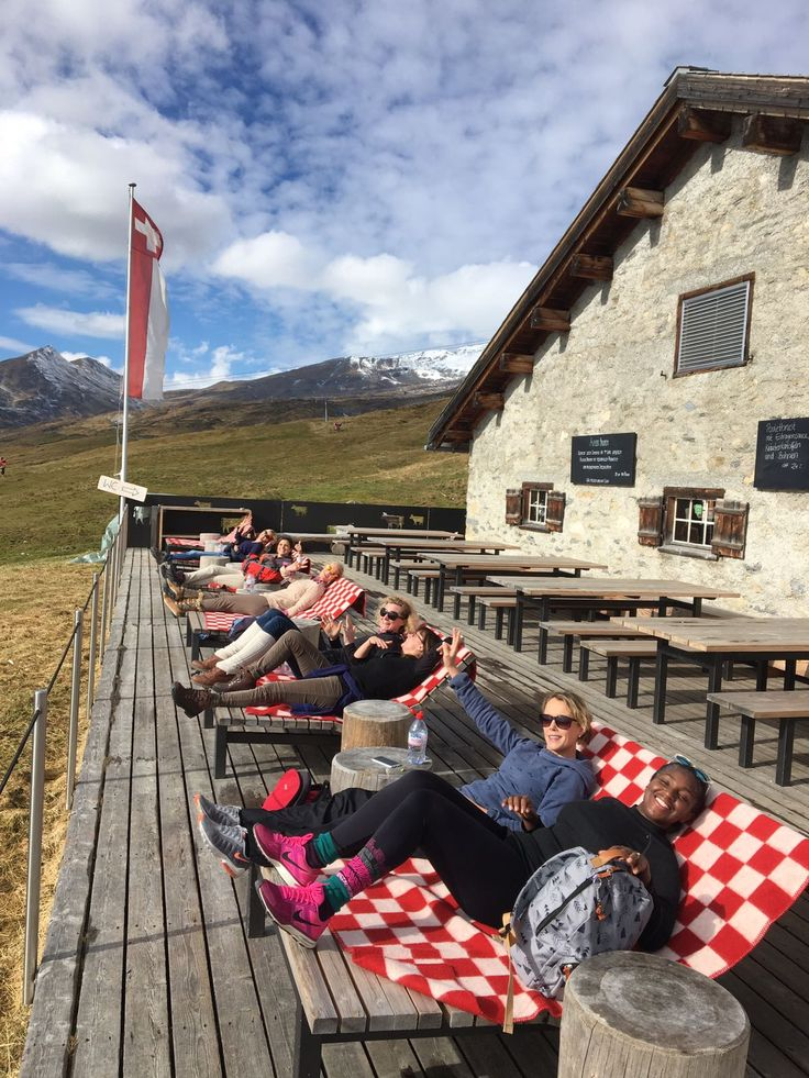 Hiking lunch @Nagens, Flims Laax, Switzerland laaxtreetops.ch