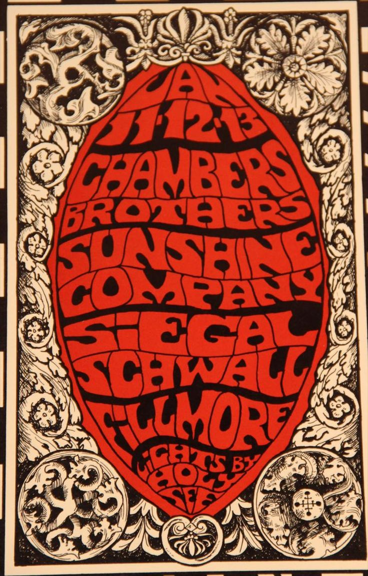 iGavel Auctions: Three Fillmore Concert Posters, Bill Graham, 1966-68, N3GNS RR1