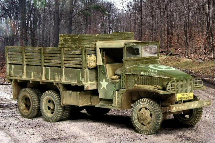 CCKW 353  6x6 GMC Truck by Gunnar Bäumer