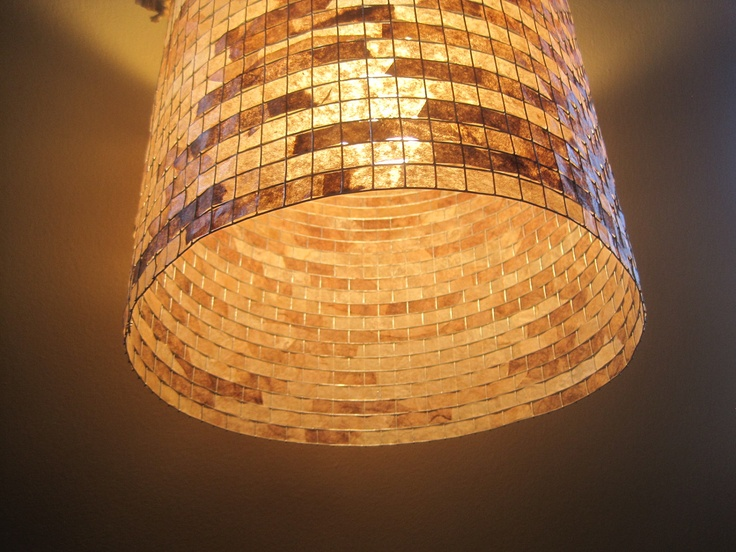 Make Your Own Hanging Lampshade