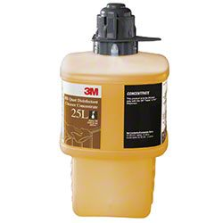 3M 25L Complies with OSHA's bloodborne pathogen standard for disinfecting surfaces soiled with blood or other potentially infectious body fluids. EPA-registered, hospital-grade, quaternary disinfectant cleaner kills HBV, HIV-1, MRSA, VRE, Herpes Simplex I & II and other pathogens. https://www.baxtersales.com/catalog/CatalogProductDetail.aspx?itemno=3M-23551-EA