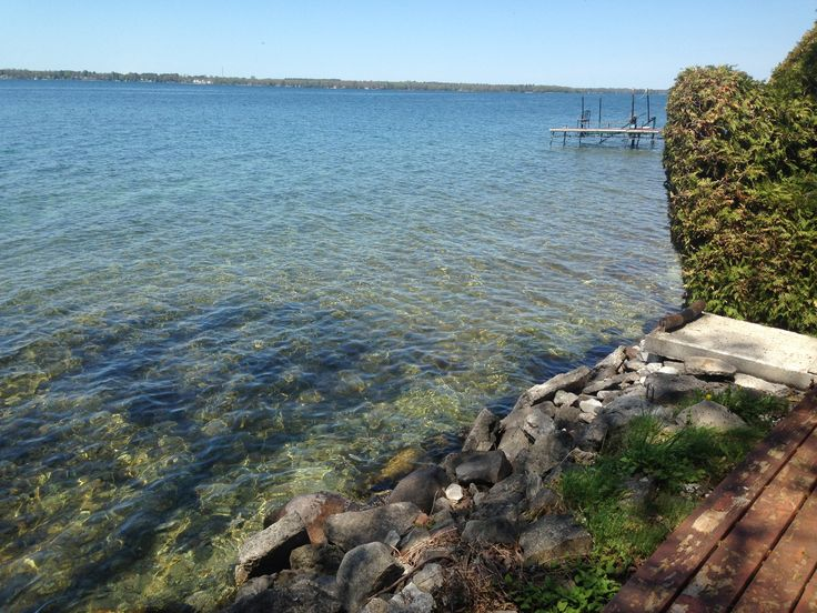 Lucky buyer will enjoy this water front in the summer
