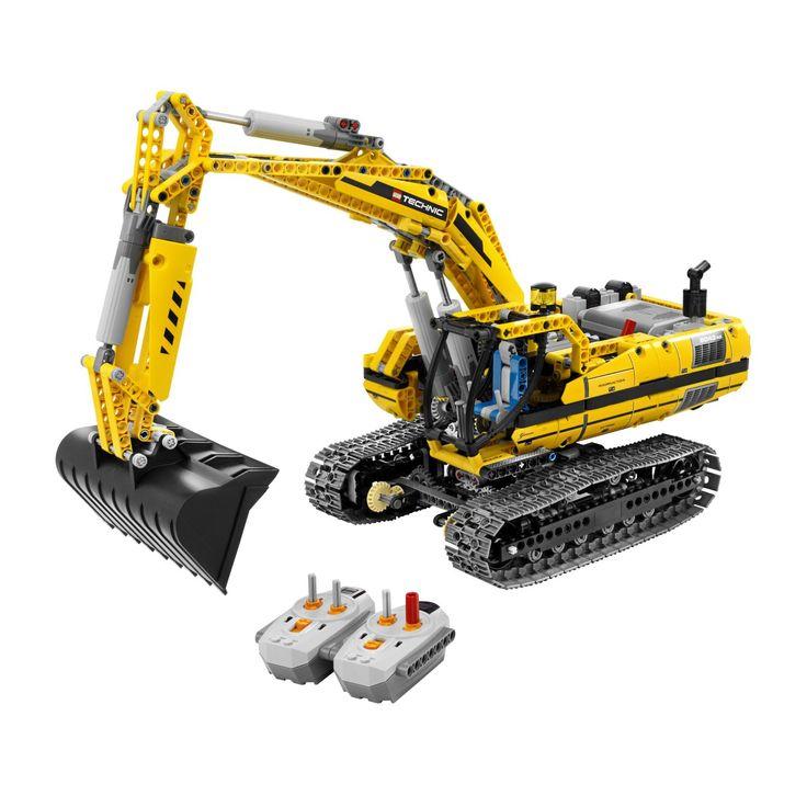 lego technic   LEGO TECHNIC Motorized Excavator 8043