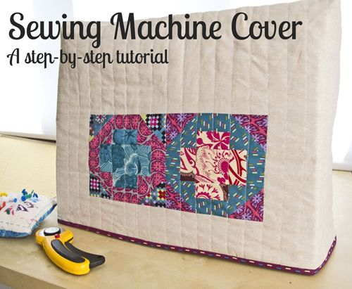 Tutorial: Charlotte's reversible sewing machine cover - The Village Haberdashery