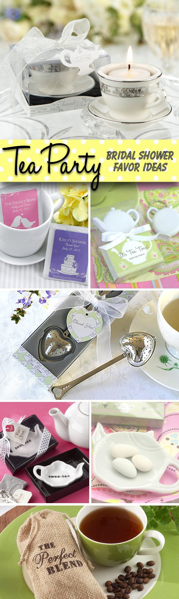 25 Fun Bridal Shower Favor Ideas for Tea Parties
