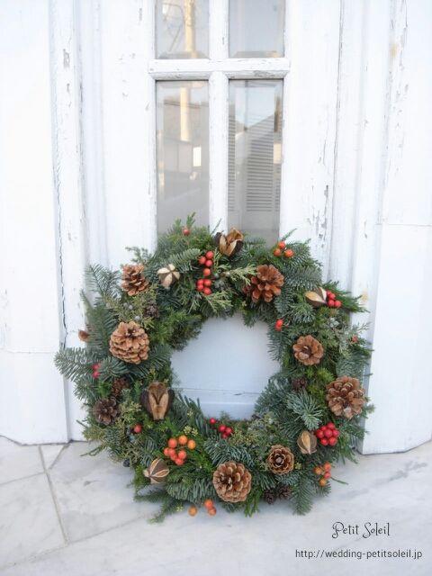 Xmas wreath クリスマスリース
