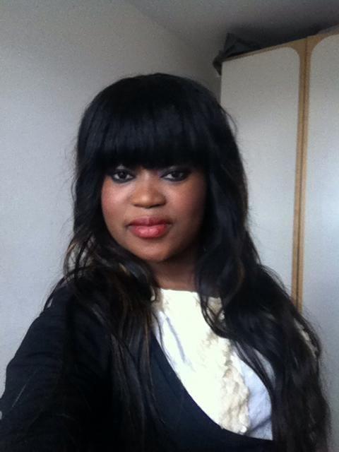 coupe avec frange by landriche coiffure femme black tissage long pinterest. Black Bedroom Furniture Sets. Home Design Ideas
