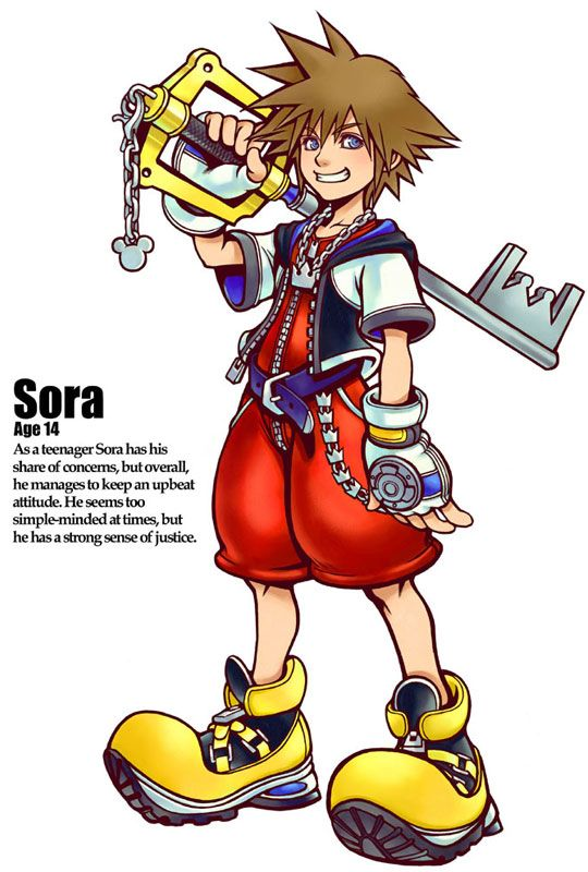 Kingdom Hearts - Sora