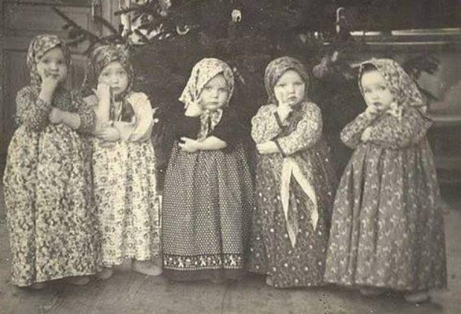 Утренник в детском саду, 1950-е