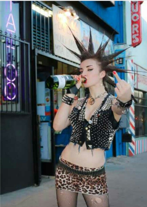 PUNK GIRL                                                                                                                                                                                 More