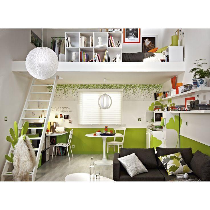 les 9 meilleures images du tableau multikaz sur pinterest leroymerlin fr chambres et fait le. Black Bedroom Furniture Sets. Home Design Ideas