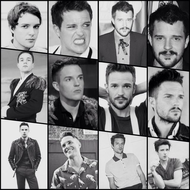 Brandon Flowers style evolution through the years.   (Hot Fuss / Sam's Town / Day and Age / Flamingo / Battle Born / The Desired Effect)  My personal favorite is clean shaven Brandon with a sleek and sexy gelled hairstyle from the Battle Born era. What's yours?
