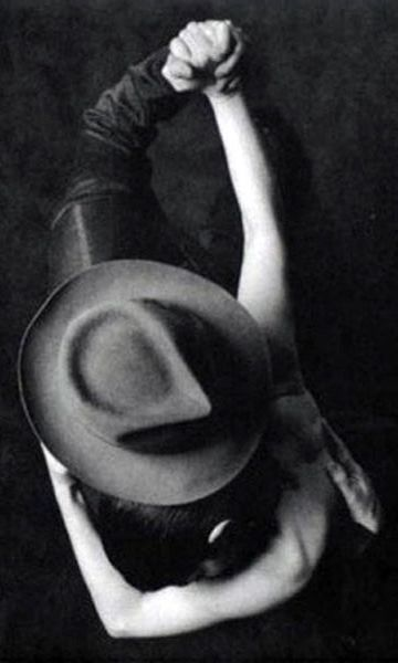 ♥ Unknown Artist - dance - black and white photograph - perspective
