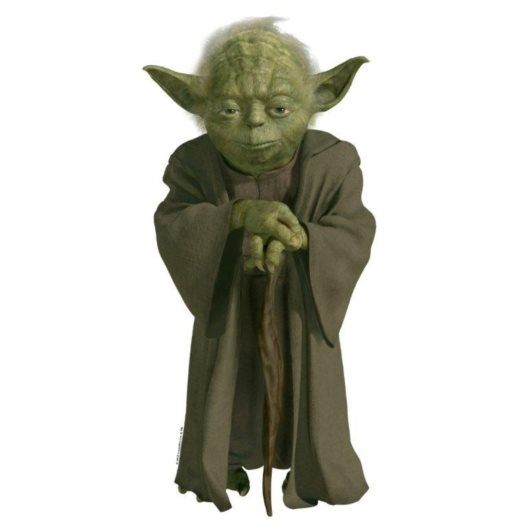Disney - Star Wars Wallies Yoda 3D