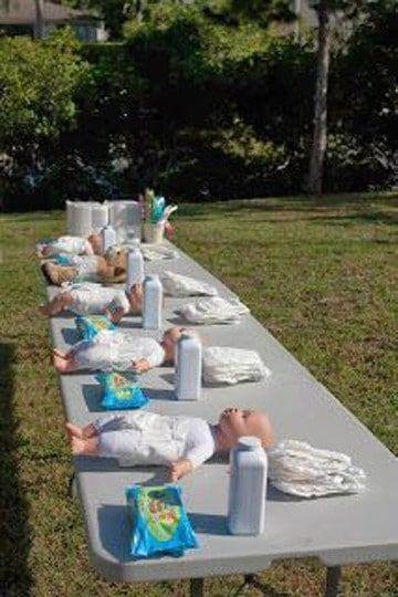 Gracioso juego para tu celebración de Baby shower. #babyshower #juegos