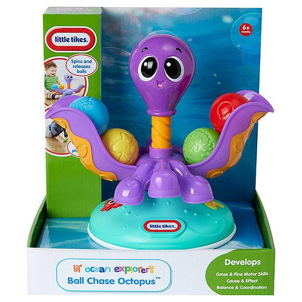 Little Tikes Lil' Ocean Explorers Ball Chase Octopus | Target Australia