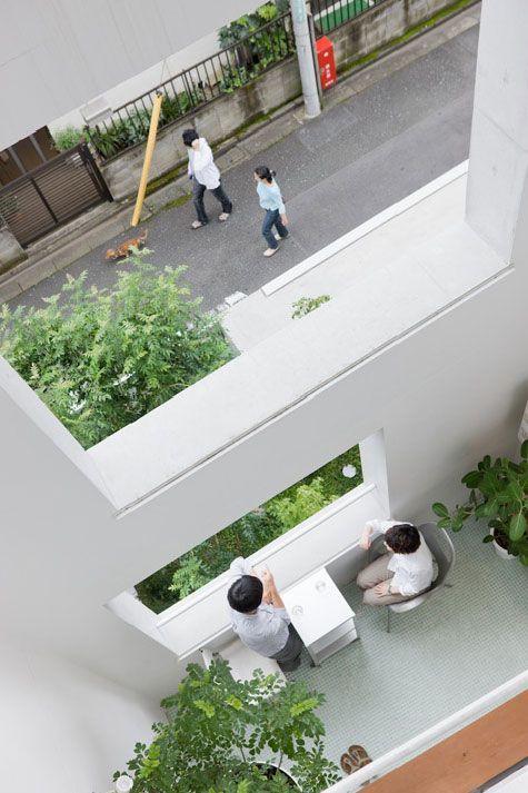 Go Hasegawa . Apartment Building in Nerima . Tokyo (4)