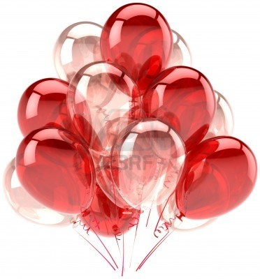 pink red white balloons - Google Search