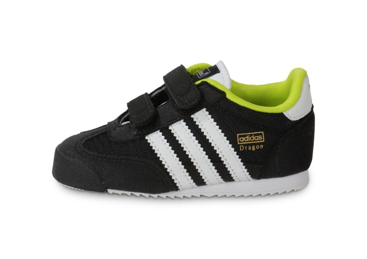 Boys adidas Originals Infant Boys Dragon CF Trainers in Black - 7 infant