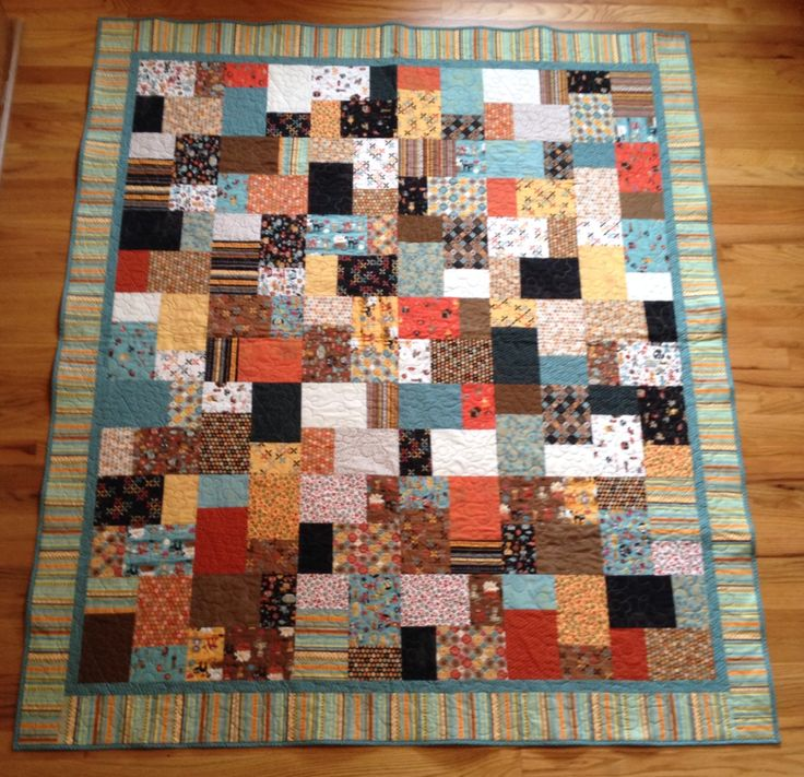 Layer Cake Quilt Material : This quilt is the Double Slice Layer Cake pattern from the ...