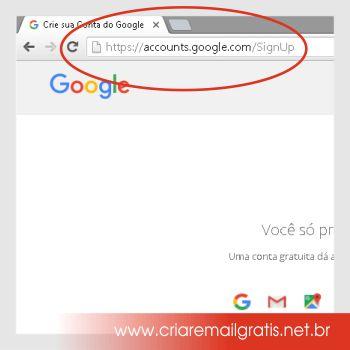 Criar Email Grátis GMAIL- Passo a Passo