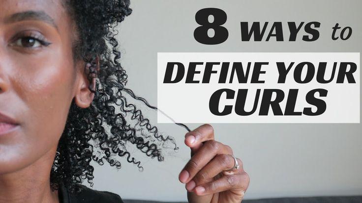 8 TECHNIQUES TO DEFINE YOUR CURLS [Video] via @blackhairinfo