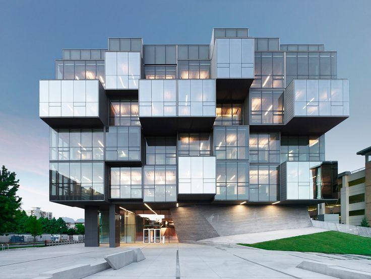 saucier + perrotte architectes: ubc faculty of pharmaceutical sciences. photo source: http://www.designboom.com/architecture/saucier-perrotte-architectes-ubc-faculty-of-pharmaceutical-sciences/