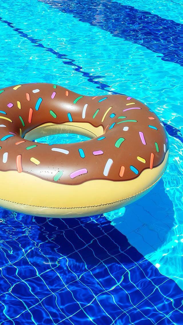 Donut/Food Floatee Wallpaper