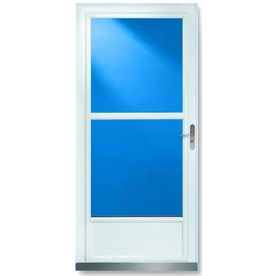 Storm doors glass storm doors and retractable screens on for Best storm door with retractable screen