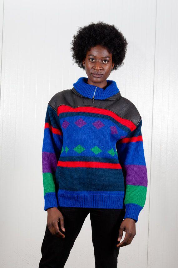 Cosby Vintage suéter/punto 80