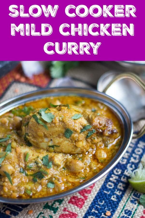 Slow Cooker Mild Chicken Curry Recipe With Coconut Milk Recipe Curry Recipes Slow Cooker Chicken Curry Mild Chicken Curry Recipe