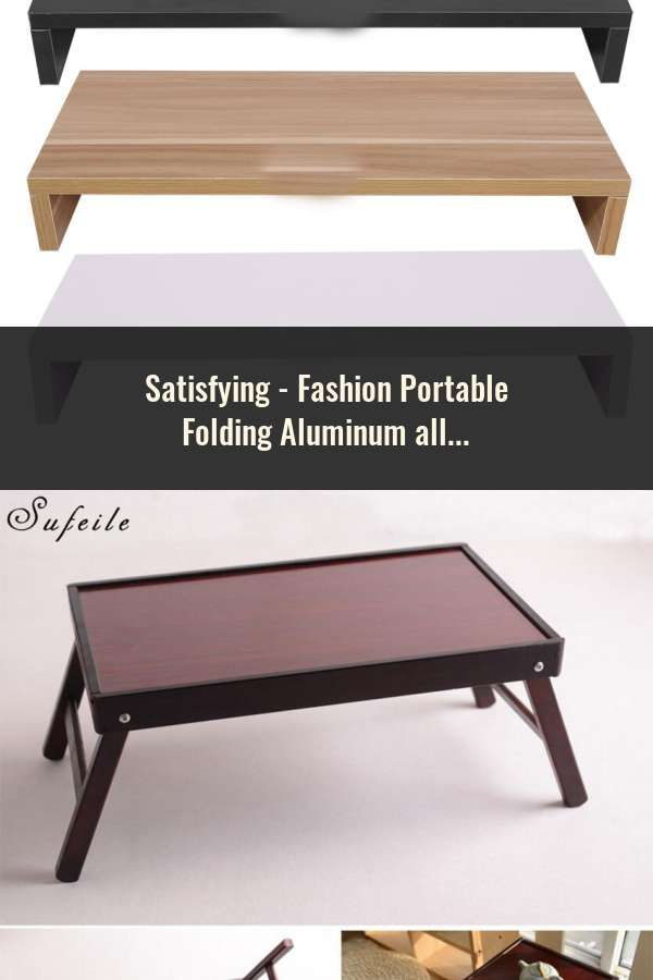 Aluminum Alloy Laptop Table Sofa Bed