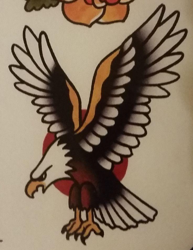 10 ideen zu traditional eagle tattoo auf pinterest. Black Bedroom Furniture Sets. Home Design Ideas