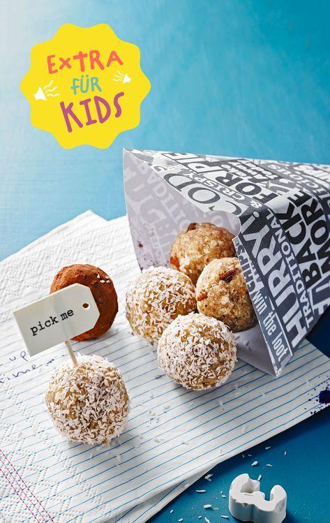 Energiebällchen für kleine Entdecker - jetzt bei Chefkoch Kids!