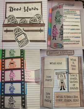 INTERACTIVE WRITING NOTEBOOKS ~ SENTENCES & PARAGRAPHS FOR COMMON CORE 3-6 - TeachersPayTeachers.com