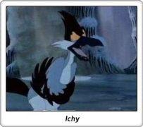 Ichy / En busca del Valle Encantado / The Land Before Time / Don Bluth / Amblin
