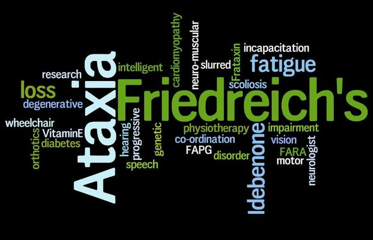 As we all know, Friedreich's Ataxia is one of the rare disease in the world. It is a disease which led to heart problems, diabetes ,scoliosis and more. So, I would like to tell you the treatment and the clinical examination of the disease  Picture by: www.wilde-life.com