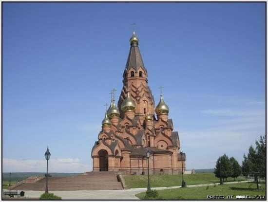 Крестовоздвиженский Собор в Лесосибирске