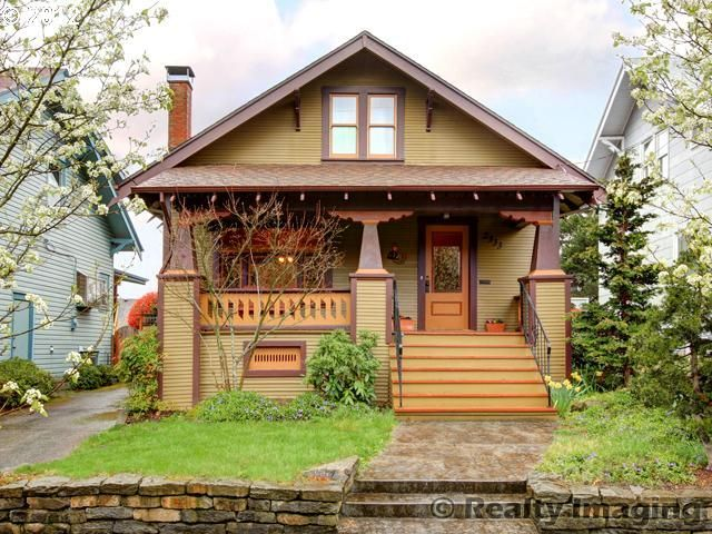 25  best Craftsman bungalow exterior ideas on Pinterest | Bungalow ...