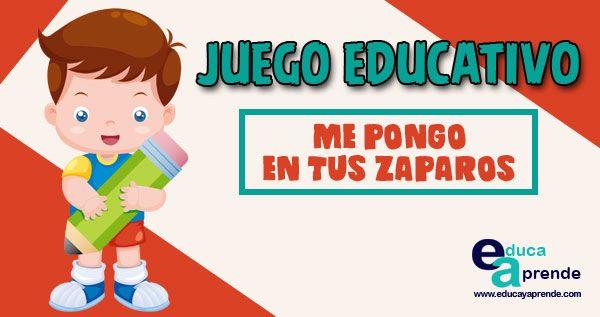 Me Pongo En Tus Zapatos Juego Para Desarrollar La Empatía En Niños Juegos Educativos Para Niños Juegos Para Preescolar Juegos Educativos